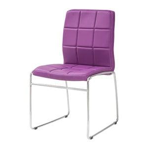 Jedálenská stolička Kid, fialová