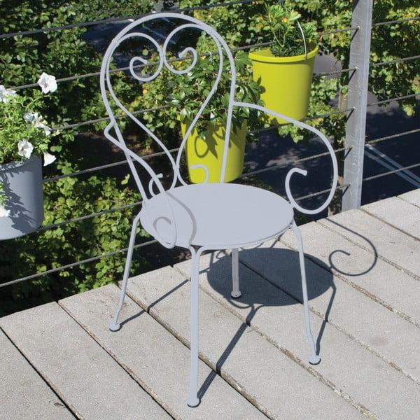 Sivá stolička na balkón Esschert Design Nature
