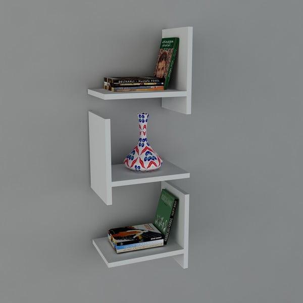 Polica Demand Book White, 22x32x90 cm