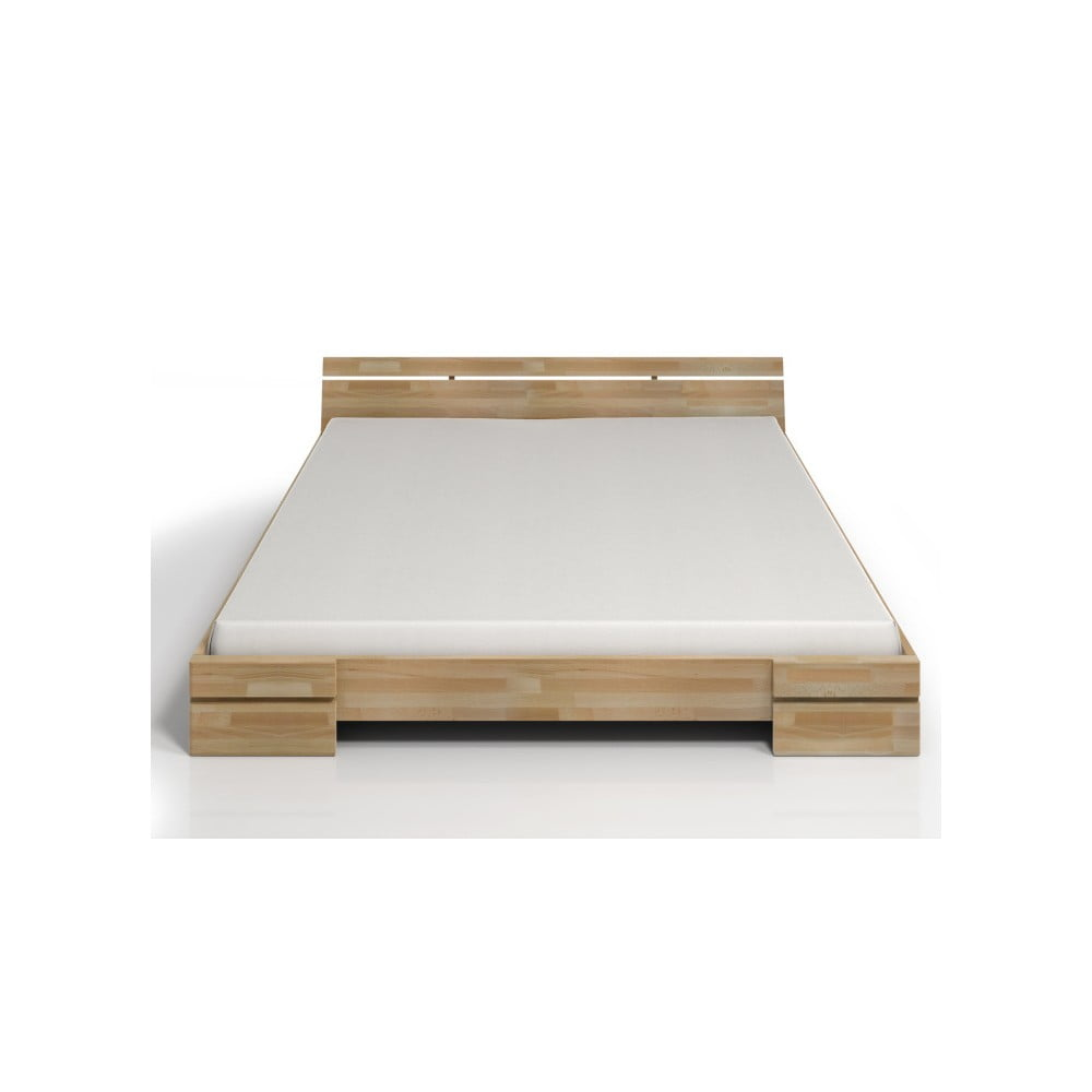 Dvojlôžková posteľ z bukového dreva SKANDICA Sparta, 180 × 200 cm