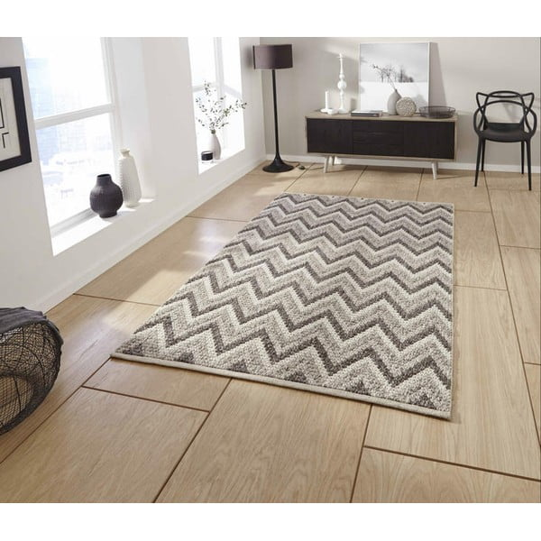Ručne tkaný koberec Think Rugs Alpha Natural, 120x170cm