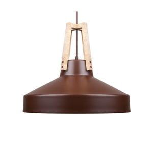 Hnedé stropné svetlo Loft You Work, 33 cm