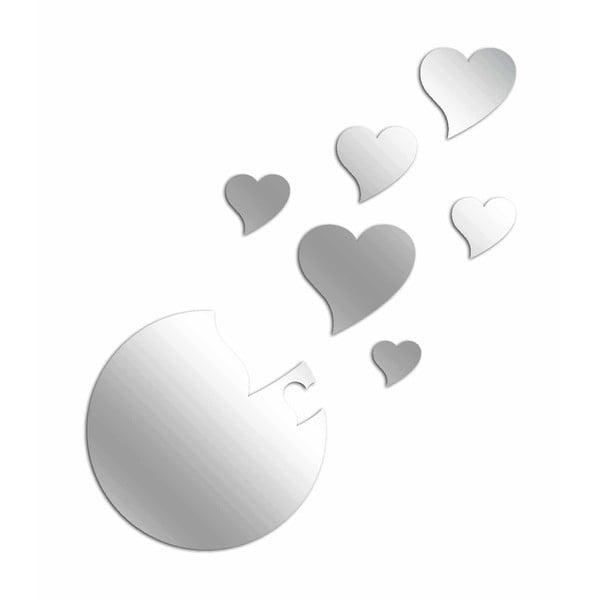 Dekoratívne zrkadlo Hearts in the air