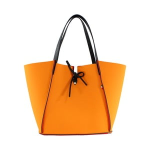 Neoprénová kabelka Fiertes, oranžová