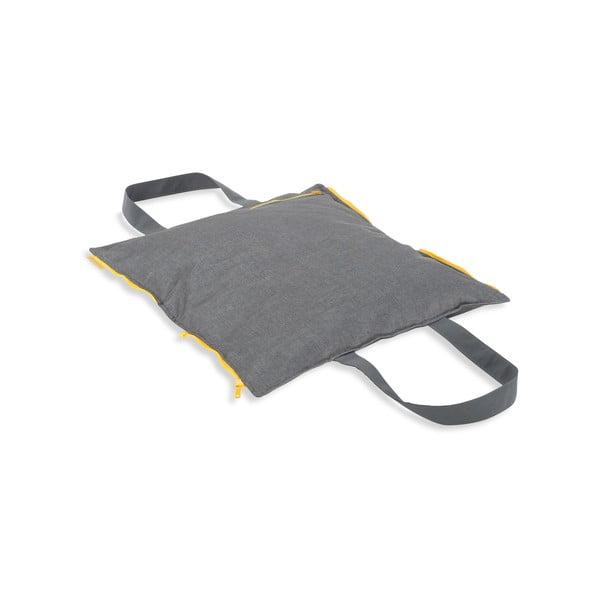 Skladací sedák Hhooboz 50x60 cm, šedý