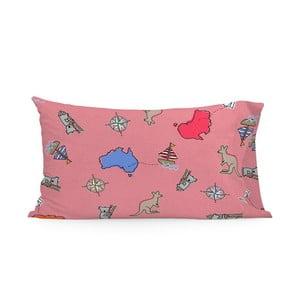Obliečka na vankúš Baleno Kangaroo Pink, 50×75 cm