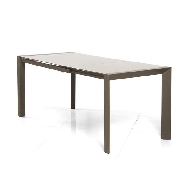 Rozkladací jedálenský stôl Seller, 120-180 cm, cappuccino
