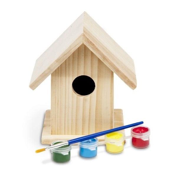 Vtáčia búdka na vymaľovanie Birdhouse