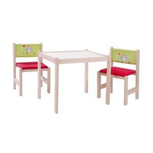 Detský stolík s 2 stoličkami Roba Kids Forest Wedding