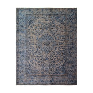 Modrý ručne tkaný koberec Flair Rugs Palais, 200 × 290 cm