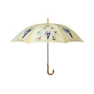 Dáždnik s potlačou vtáčikov Ego Dekor, ⌀ 120 cm