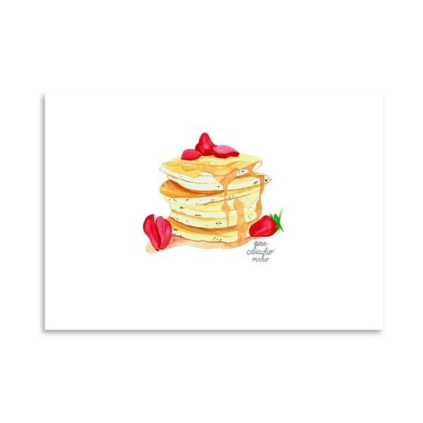 Autorský plagát Pancakes, 30x42 m