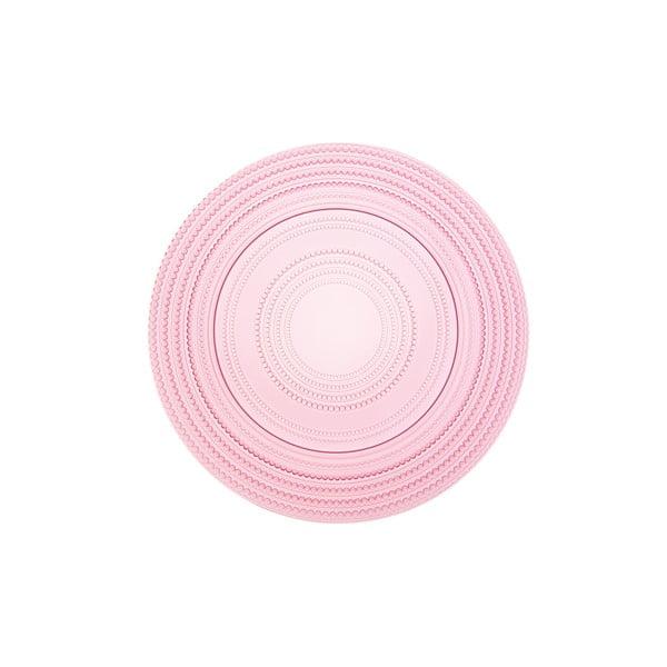 Okrúhly sklenený podnos Pois Rosa