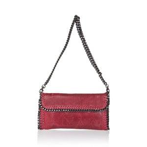 Kožená kabelka Markese 132 Red