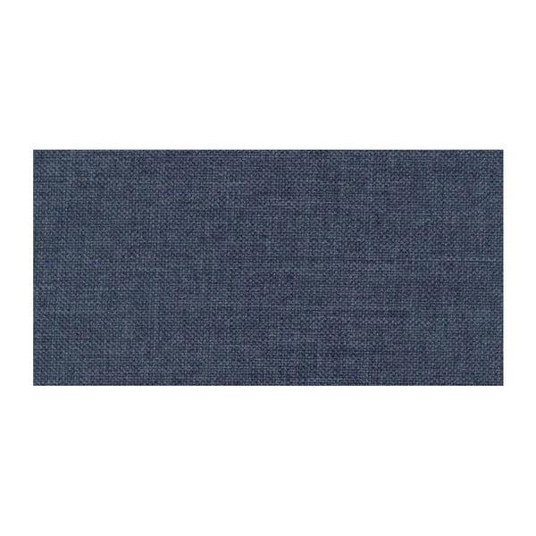 Modrá rozkladacia pohovka Modernist Pashmina, ľavý roh