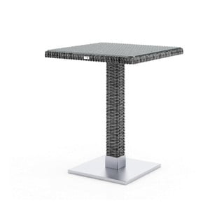 Sivý záhradný stôl Oltre Quadro, 60cm
