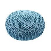 Modrý puf Homemania Dedalo, ⌀ 45 cm