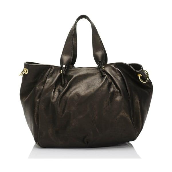 Kožená kabelka Markese 6946 Black