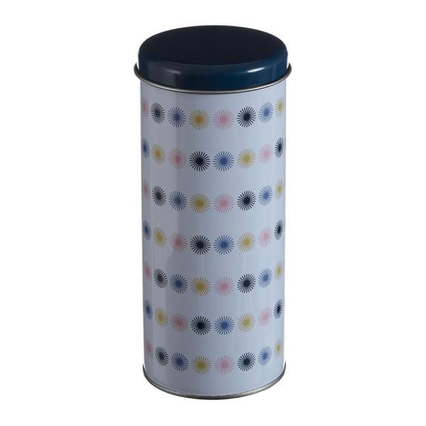 Valcovitá cínová dóza Premier Housewares Joni, Ø 8×18 cm