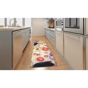 Vysokoodolný kuchynský koberec Food, 60x110 cm