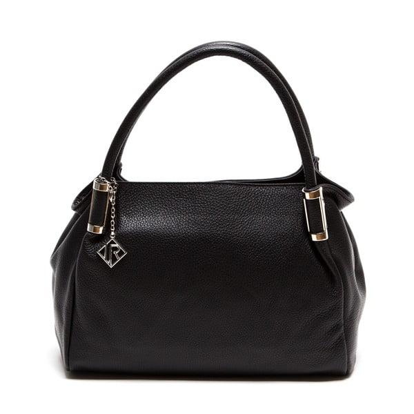 Kožená kabelka Isabella Rhea 1153, čierna