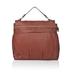 Kožená kabelka Markese 6403 Brown