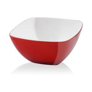 Červená šalátová misa Vialli Design, 14cm
