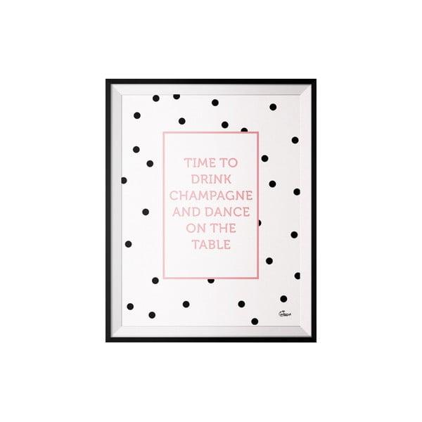 Plagát Champagne, 50x70 cm