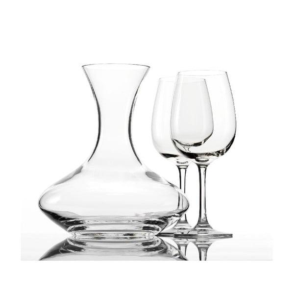 Set 2 pohárov a dekantéru na víno Weinland