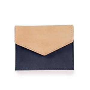 Béžovo-modré puzdro na karty O My Bag Luciana
