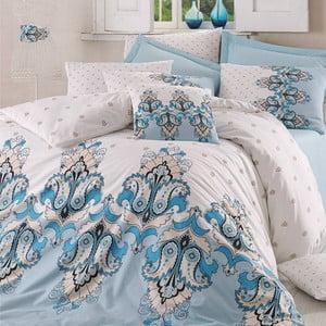 Obliečky s plachtou Zumrut Blue, 200x220 cm
