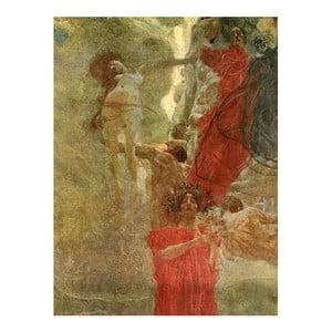 Obraz Gustav Klimt - Composition Design to Medicine, 30x40 cm