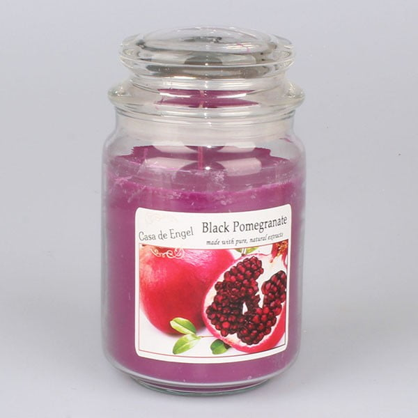 Vonná sviečka s vôňou granátového jablka Dakls