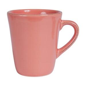 Ružový kameninový hrnček Côté Table Americain, 250 ml