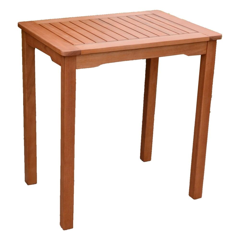 Záhradný stôl z dreva eukalyptu ADDU Pittsburgh, 70 x 50 cm