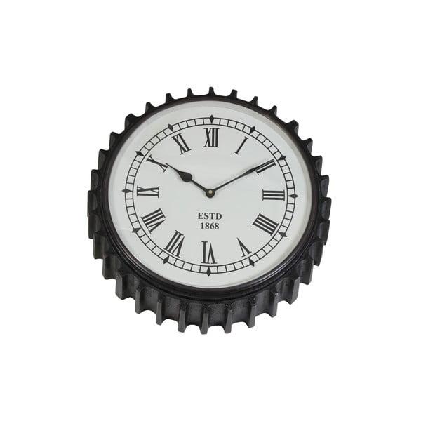 Nástenné hodiny Rad Black