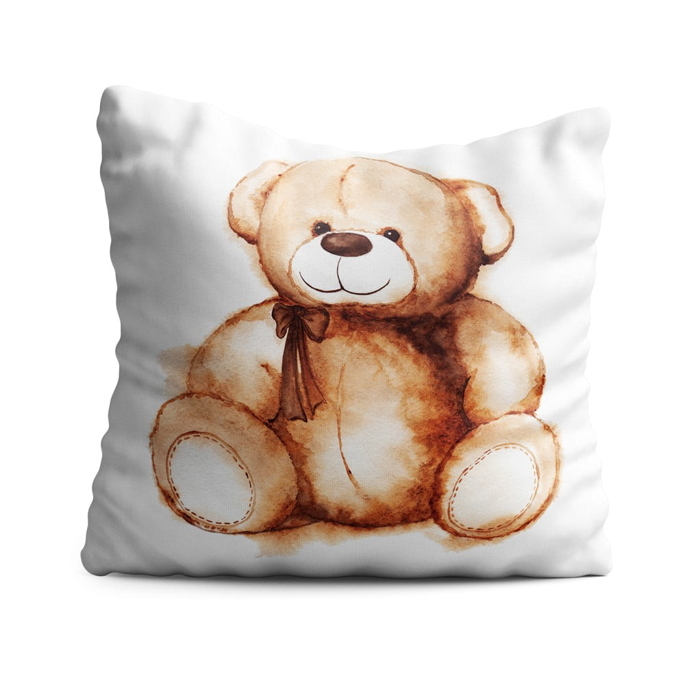 Detský vankúš OYO Kids Cutie Bear, 40 x 40 cm