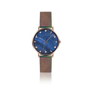 Dámske hodinky s dúhovým remienkom z antikoro ocele Emily Westwood Daisy