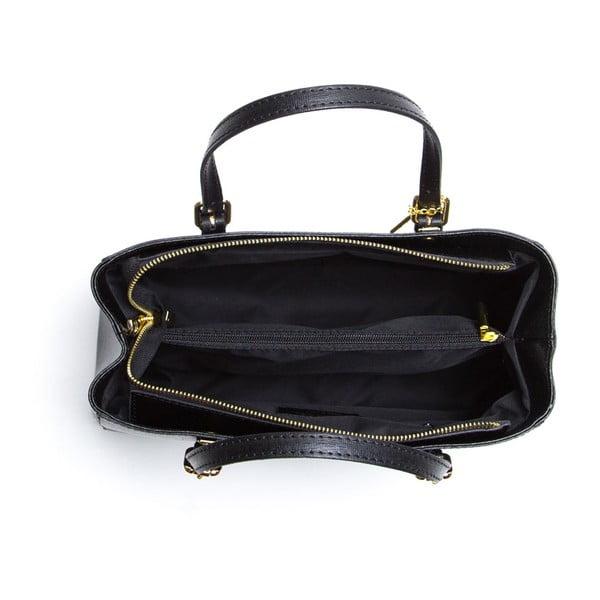 Kožená kabelka Ellie 441 Nero