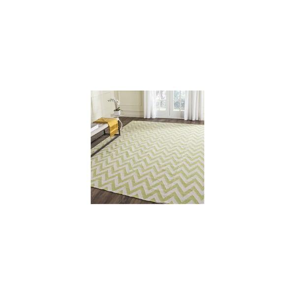 Vlnený koberec Nellaj 121x182 cm, zelený