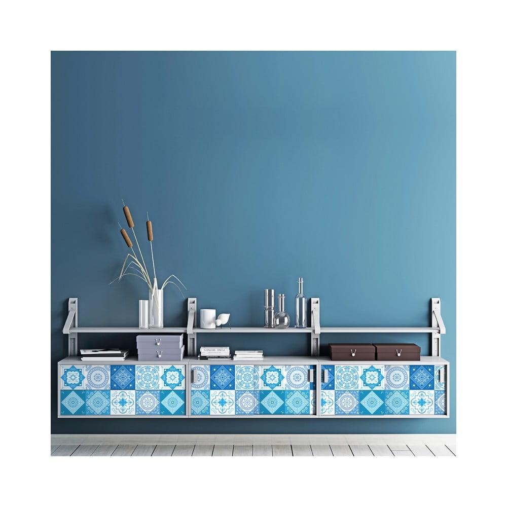 Sada 30 samolepiek na nábytok Ambiance Tiles Stickers For Furniture Suzia, 15 × 15 cm