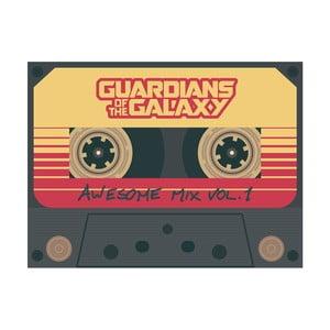 Obraz Pyramid International Guardians Of The Galaxy Vol 2 Wesome Mix Vol 1, 60 × 80 cm