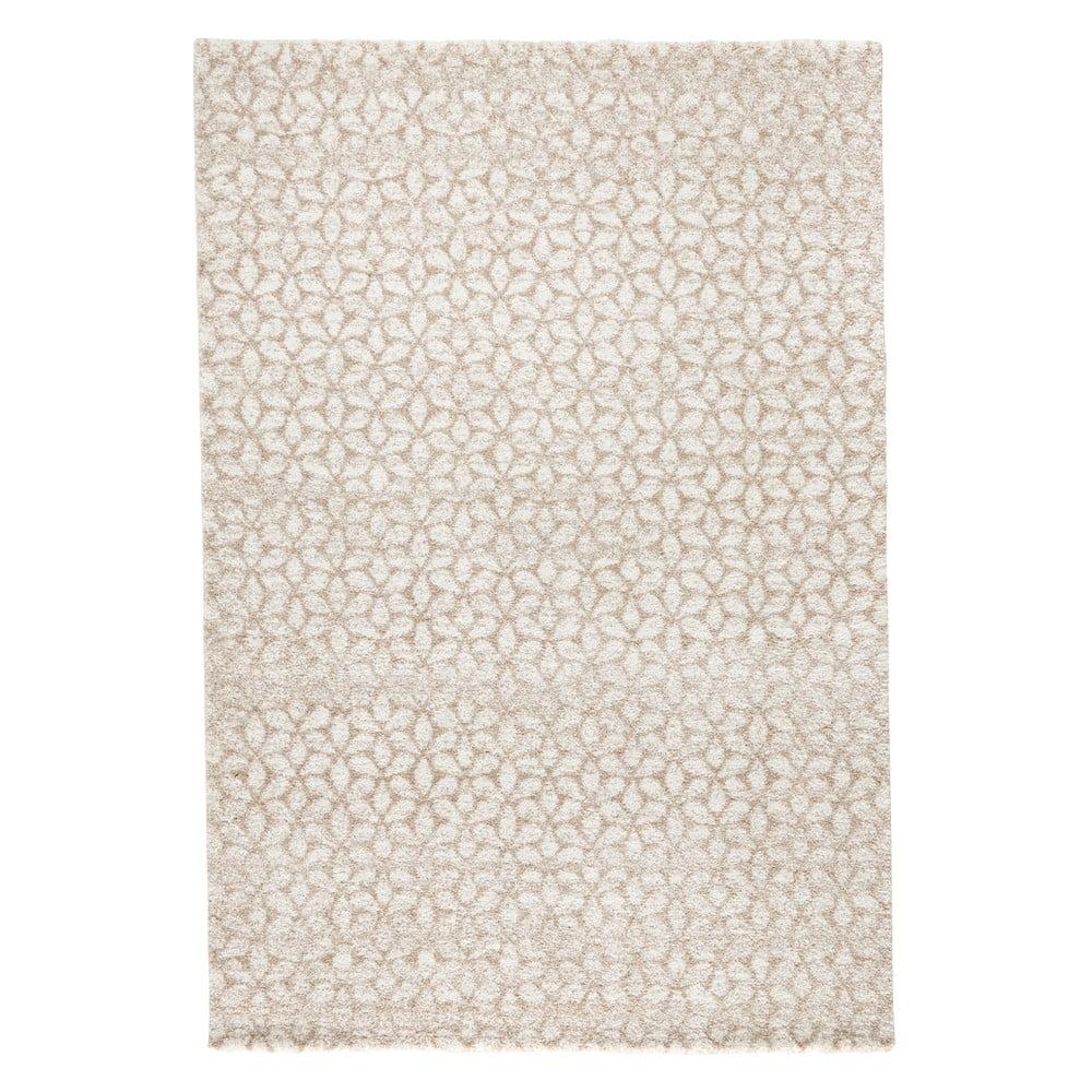Béžový koberec Mint Rugs Triangles, 160 × 230 cm
