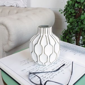 Váza Orchidea Milano Modern White