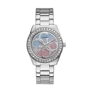 Dámske hodinky v striebornej farbe s antikoro remienkom Guess W1201L1