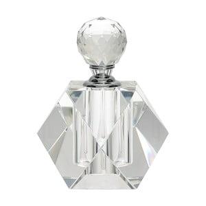 Sklenený flakón na parfum Green Gate, výška 10 cm