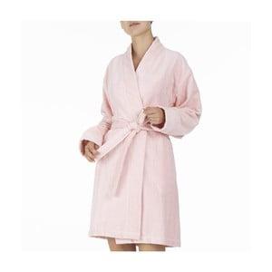 Ružový bavlnený župan Bella Maison Marigold, vel. S/M
