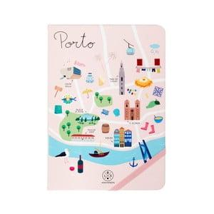 Poznámkový blok Mr. Wonderful Porto, 160 strán