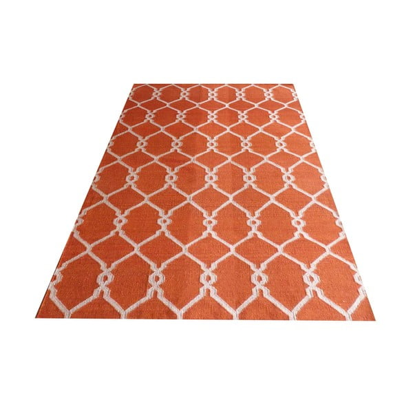 Ručne tkaný koberec Kilim Modern 119, 155x240 cm