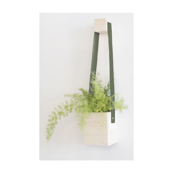 Kvetináč Really Nice Things Colgante, zelený